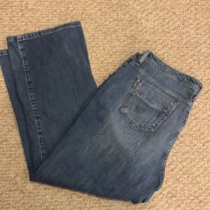 Lee mid rise bootcut jeans size 20w petite